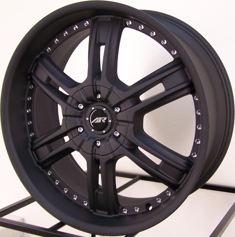 22 American Racing Marin Chrome Wheels 6x5 5mm 18mm
