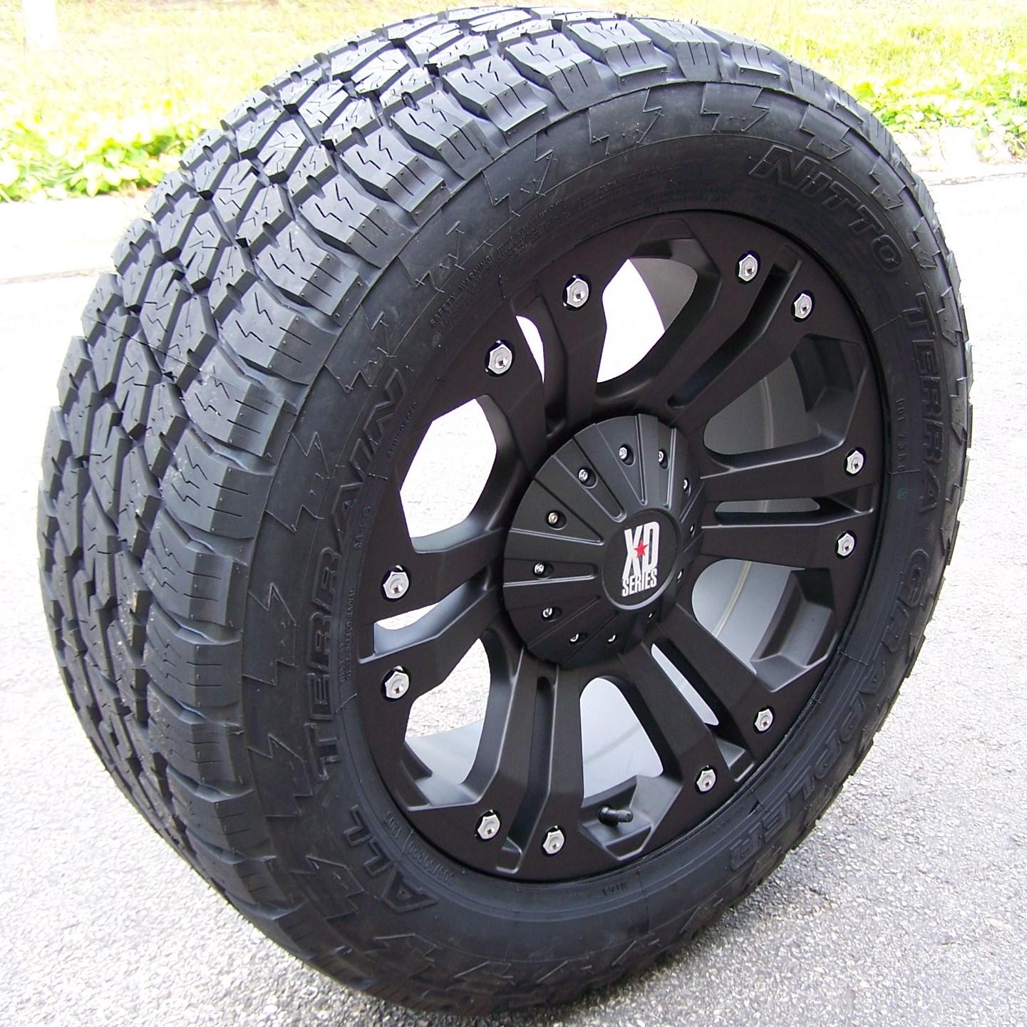 purchase  black monster wheels nitto terra grappler escalade suburban ford expedition