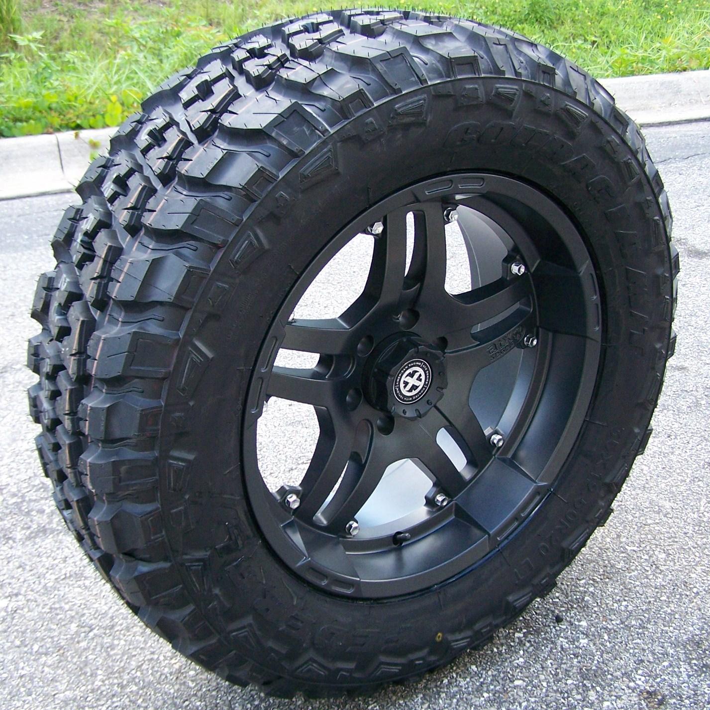 20 ATX Artillery Wheels Rims 33 Federal Couragia Tires Chevy Tahoe