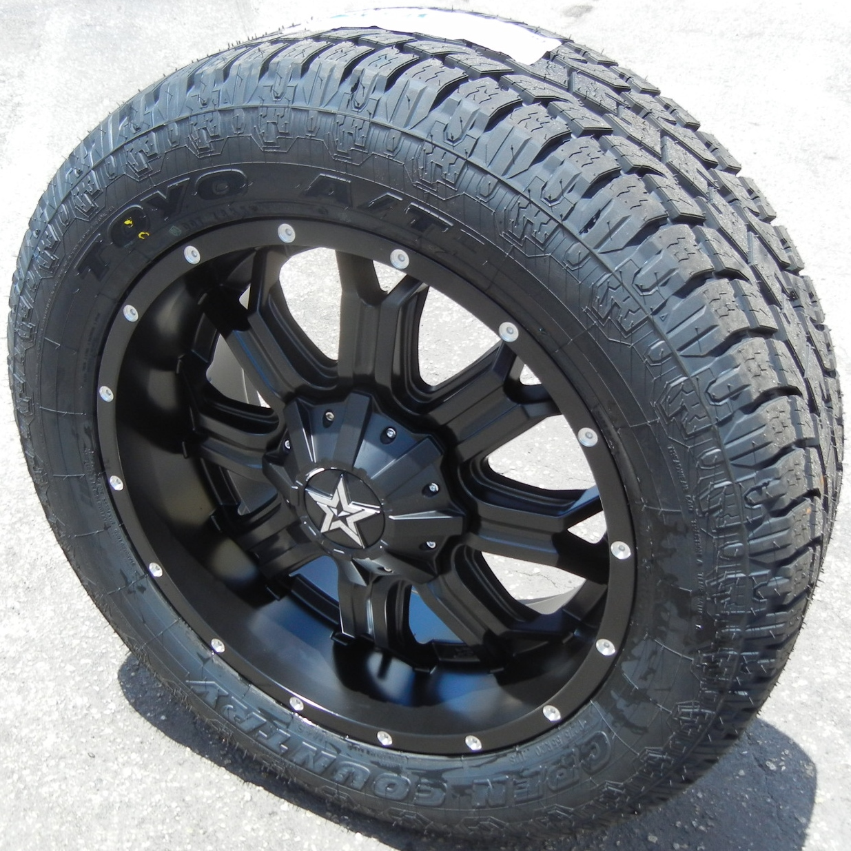 Find 20 Black Tis 535 Wheels Rims Toyo Opencountry At Ii Tires Ford Dodge Ram 1500 At2 Wheel
