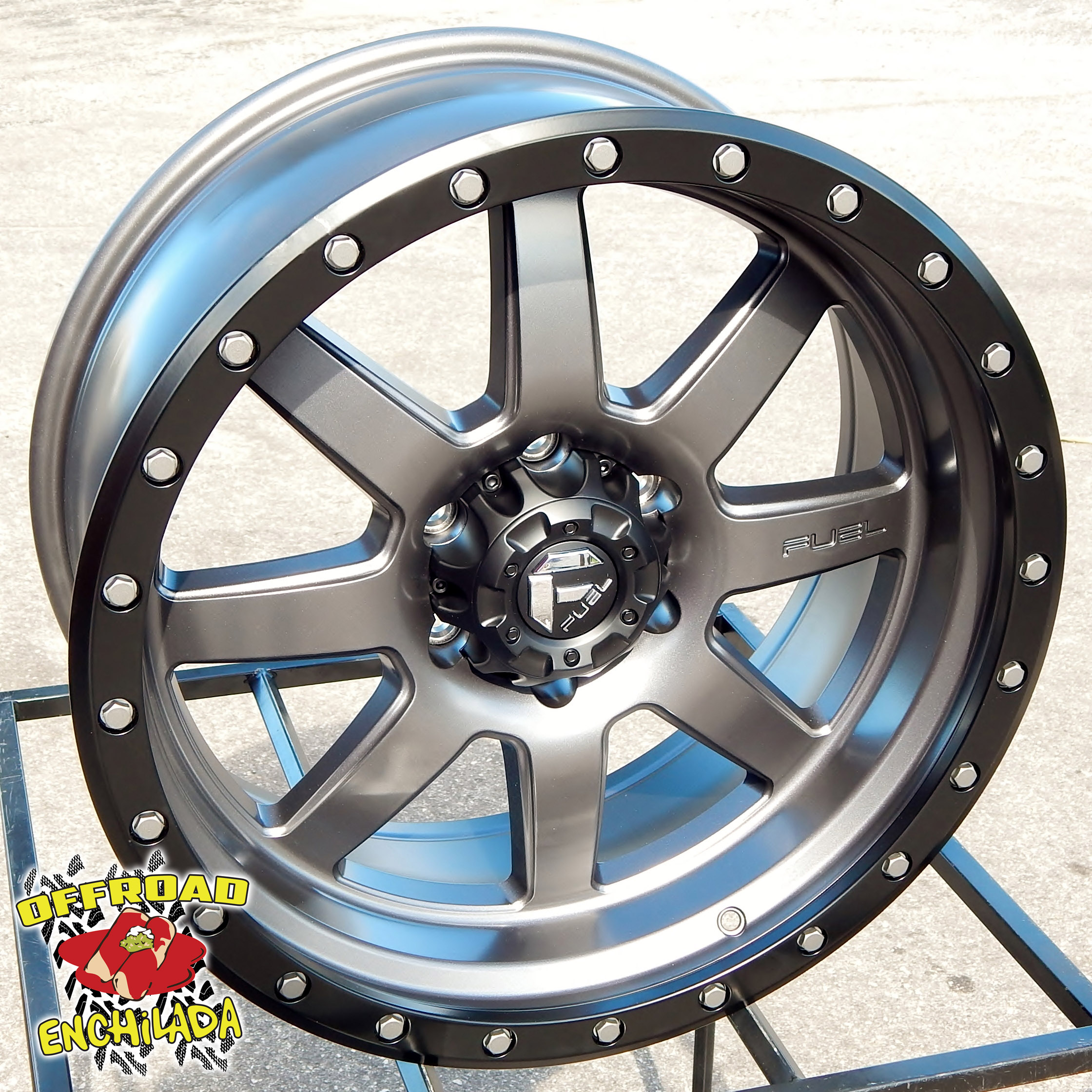 Fuel Trophy Wheels >> Details About 20x9 Gray Black Fuel Trophy Wheels Rims Chevy Silverado Gmc Sierra Tacoma Tahoe