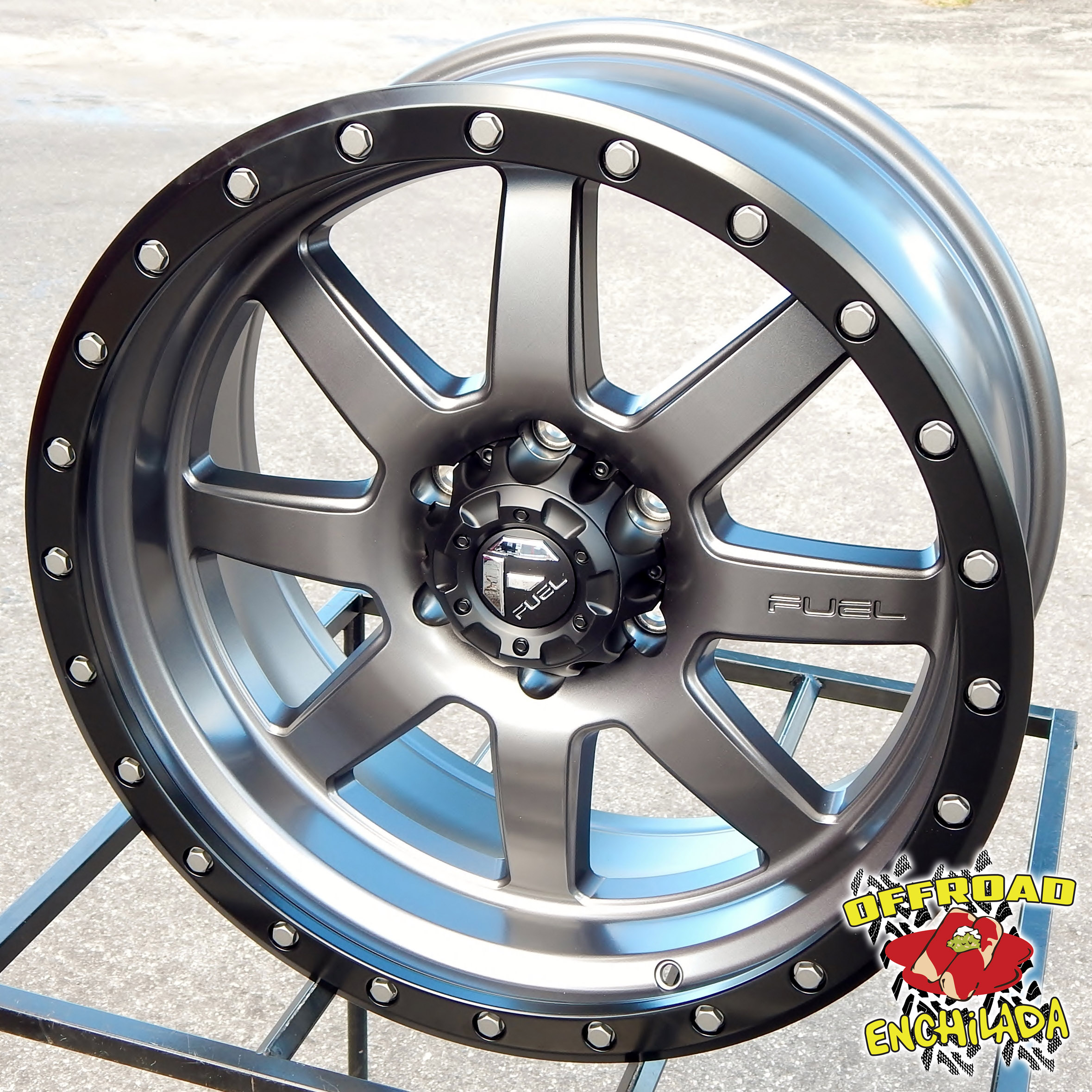 Fuel Trophy Wheels >> Details About 20x9 Gray Black Fuel Trophy Wheels Rims Ford F 150 Expedition Fx4 Xlt 6x135